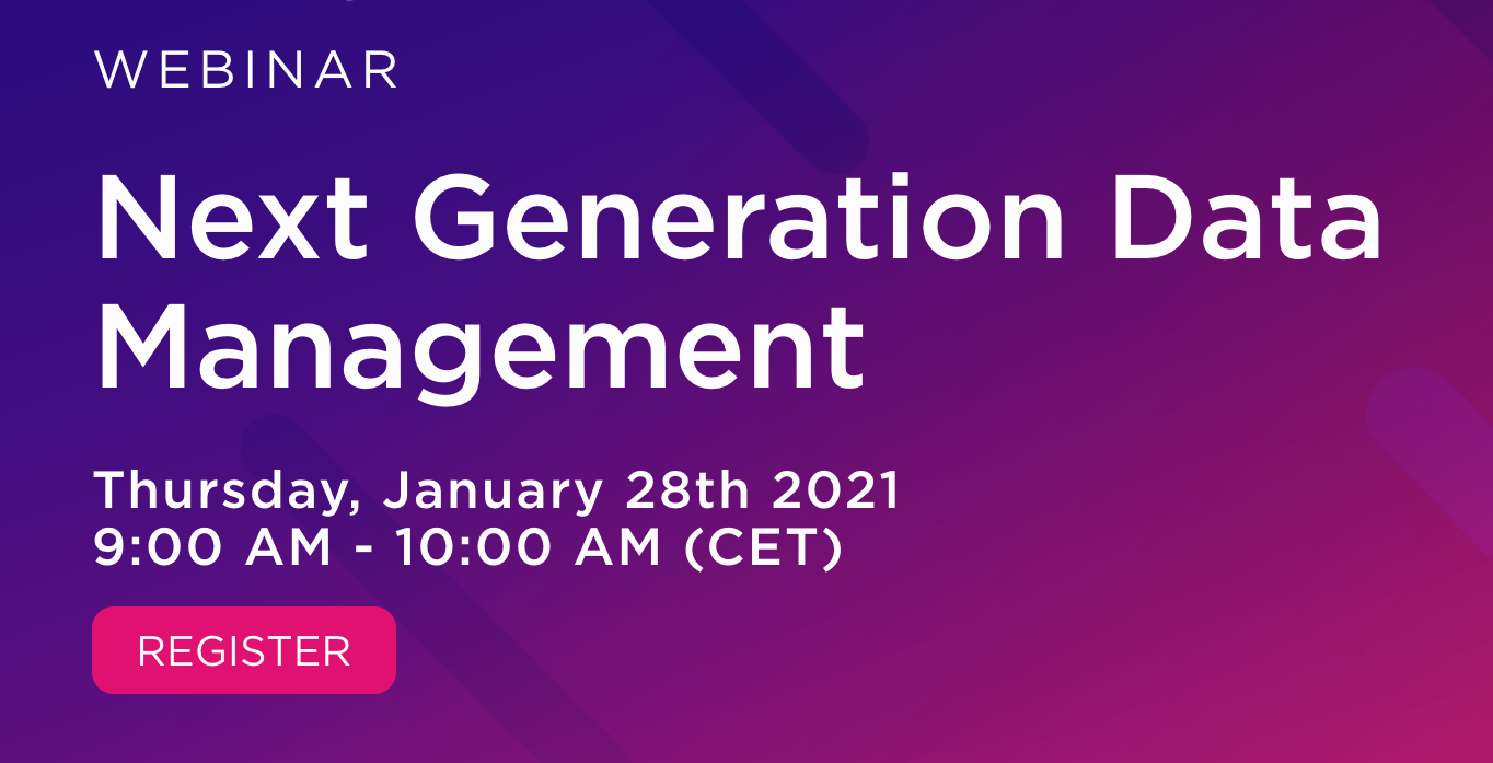 Next Generation Data Managment