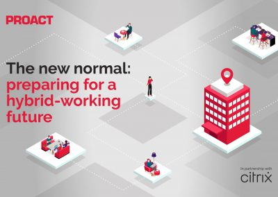 The new normal: preparing for a hybrid-working future (on-demand)