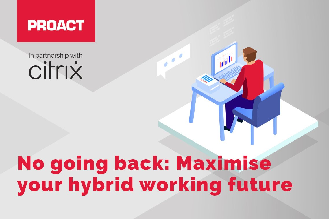 No going back: Maximise your hybrid working (online event)